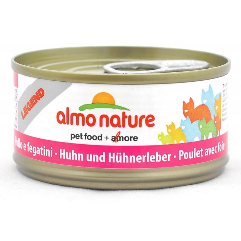 Влажный корм для кошек Almo Nature Legend Adult Cat with Chicken and Liver 0,07 кг