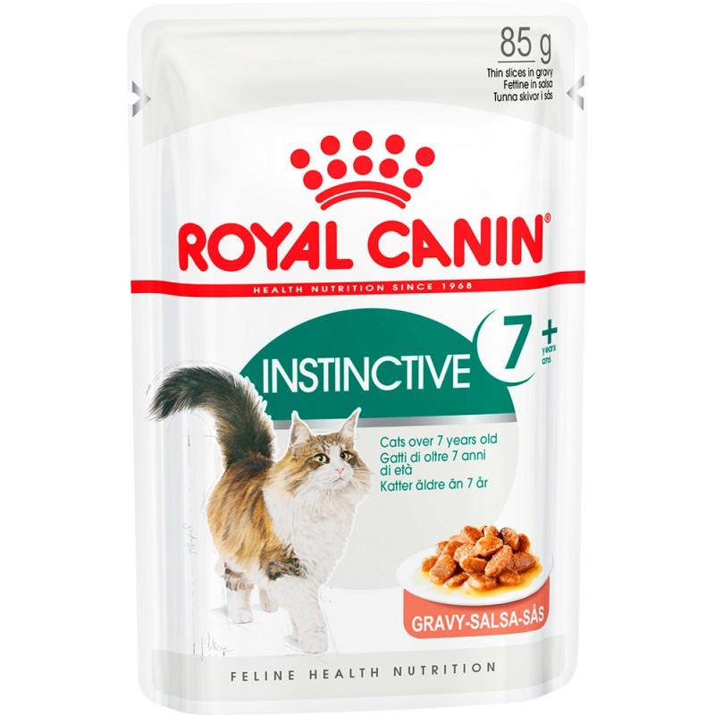 Влажный корм для кошек Royal Canin Instinctive +7 в соусе 0,085 кг