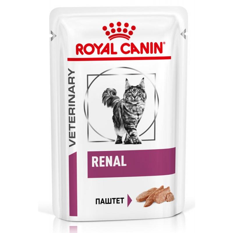 Влажный корм Royal Canin Renal Feline паштет диета для кошек 0,085 кг