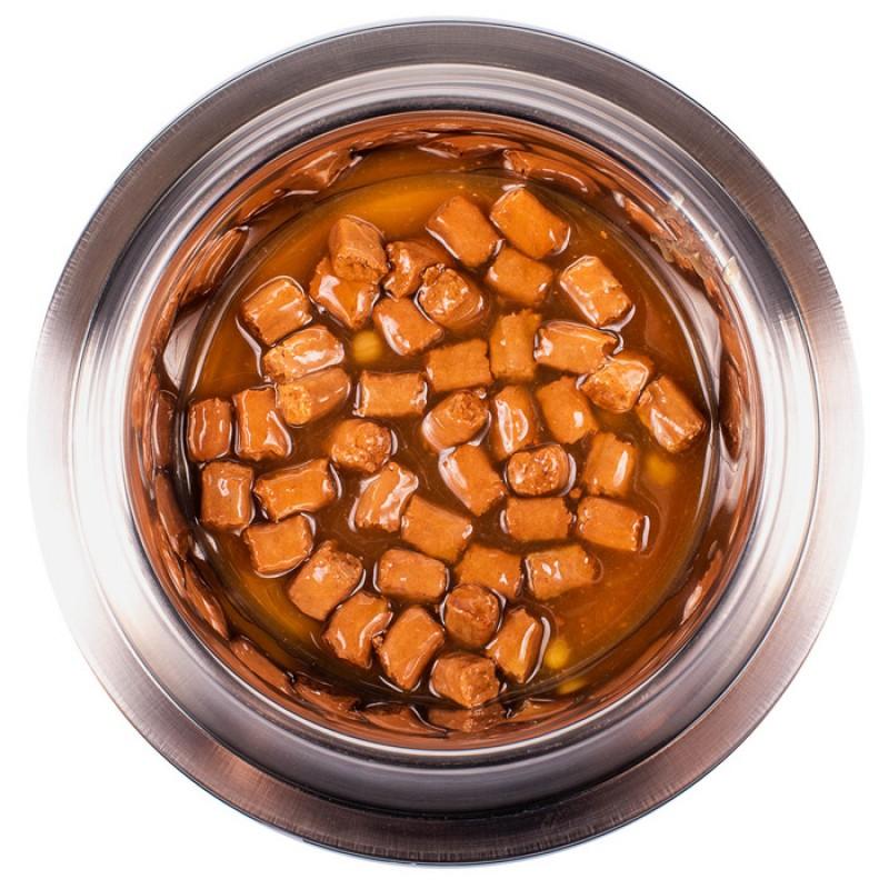 Влажный корм для собак Monge Grill Pouch ягненок и овощи 0,1 кг