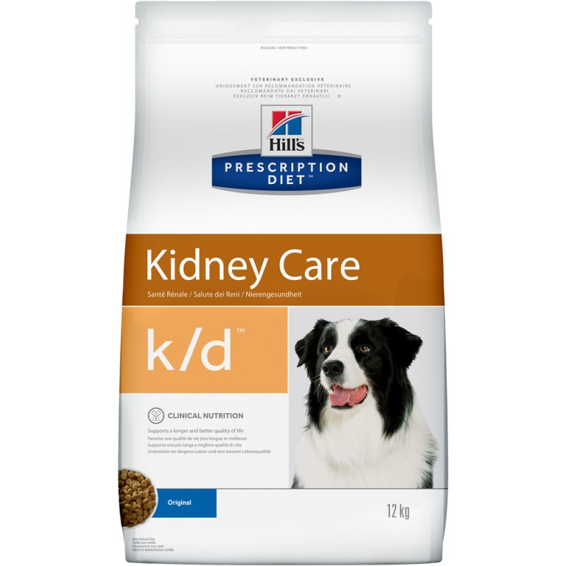 Сухой корм Hills Prescription Diet k/d Canine Renal Health диета для собак 12 кг
