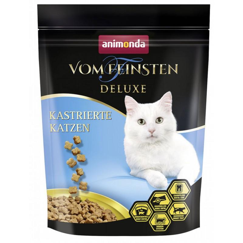 Сухой корм для кошек Animonda Vom Feinsten Deluxe Castrated 0,25 кг