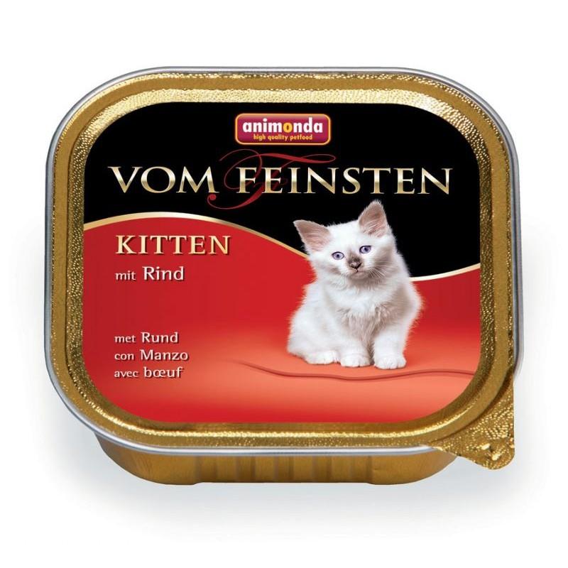 Влажный корм для котят Animonda Vom Feinsten Kitten с говядиной 0,1 кг