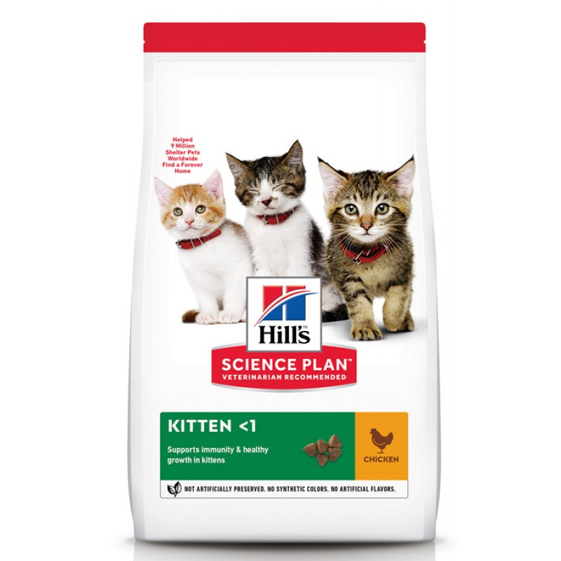 Сухой корм для котят Hills Science Plan Healthy Development Kitten Chicken 3 кг