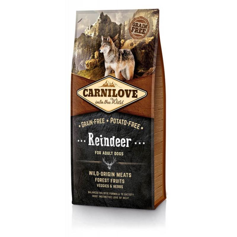 Сухой корм для собак Carnilove Reindeer for Adult с олениной 12 кг