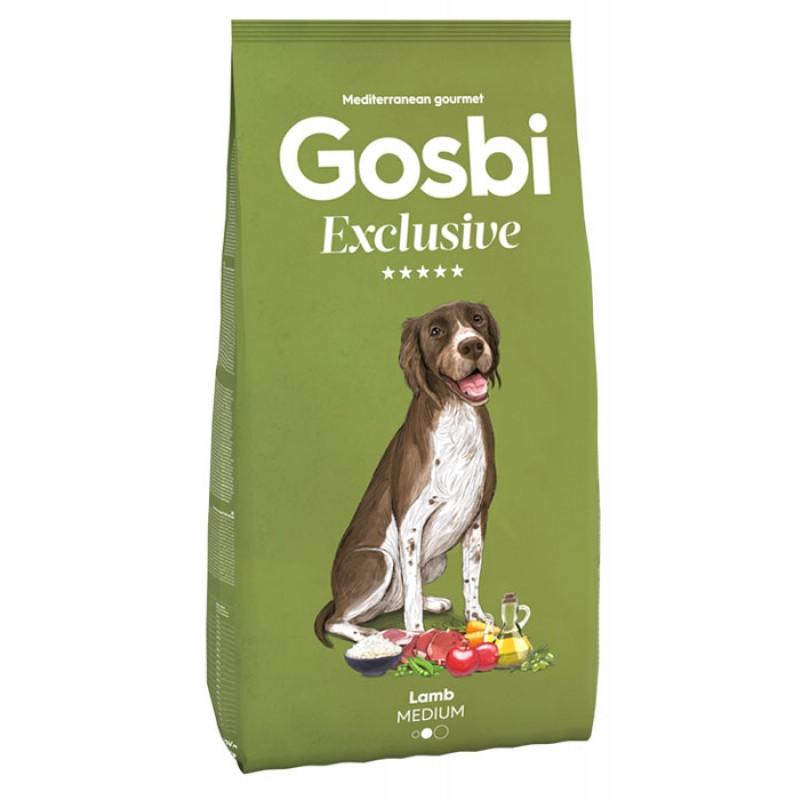 Сухой корм для собак Gosbi Exclusive Lamb Medium с ягненком для средних пород 3 кг