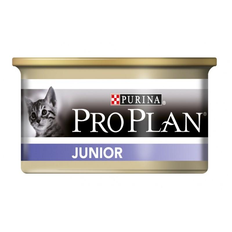 Влажный корм для котят Purina Pro Plan Junior Kitten Feline with Chicken canned 0,085 кг