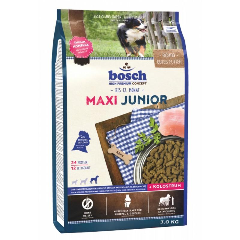 Сухой корм для щенков Bosch Maxi Junior 3 кг