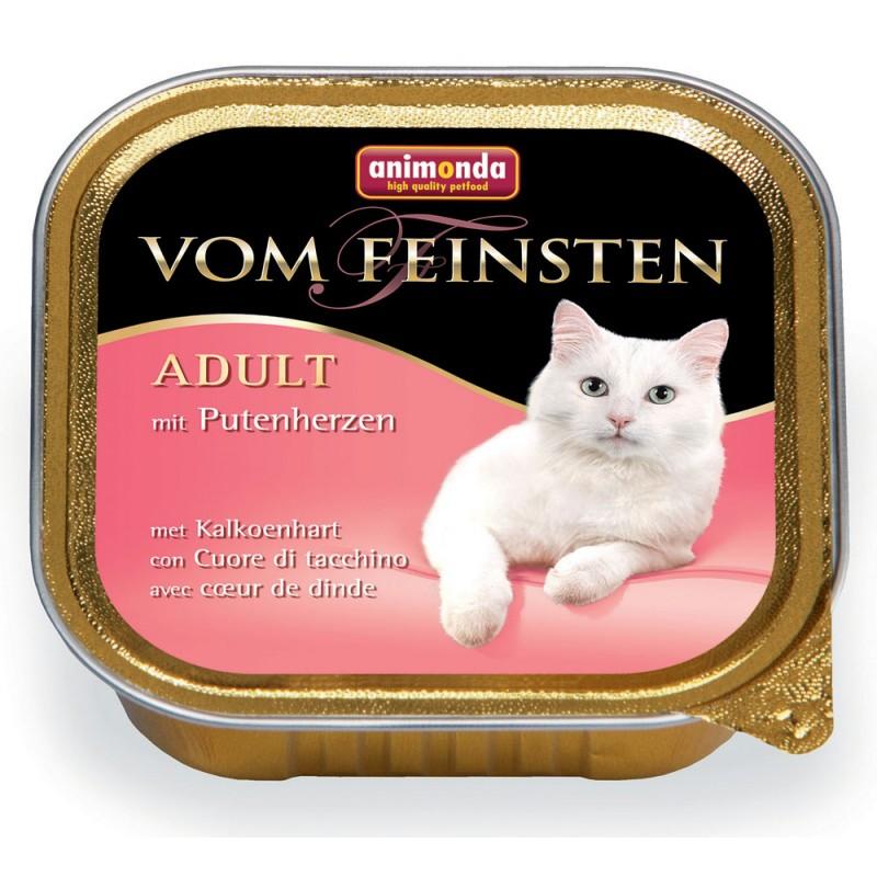 Влажный корм для кошек Animonda Vom Feinsten Adult с сердцем индейки 0,1 кг