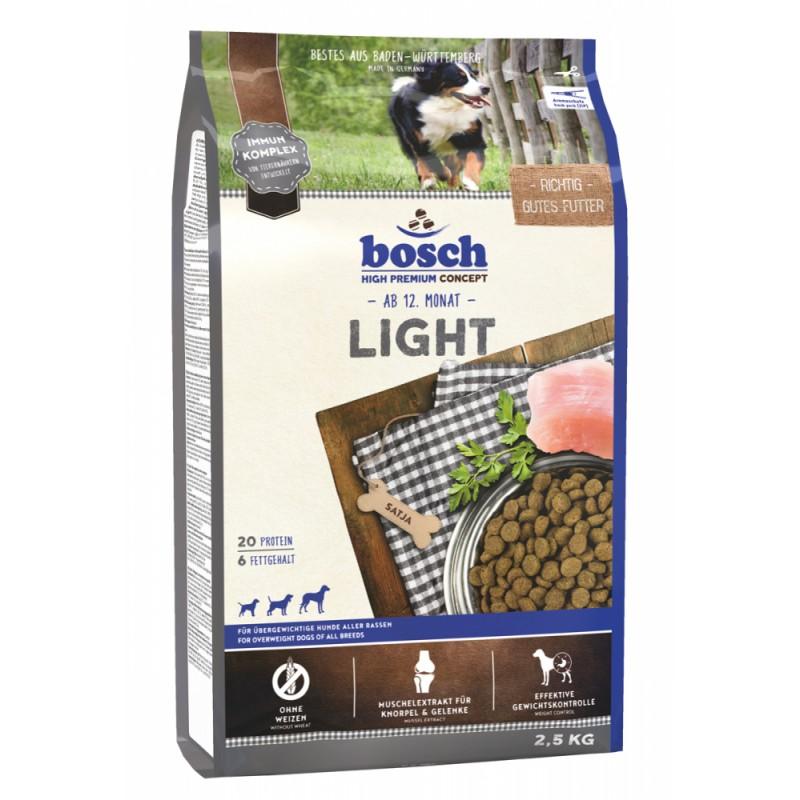 Сухой корм для собак Bosch Light 2,5 кг