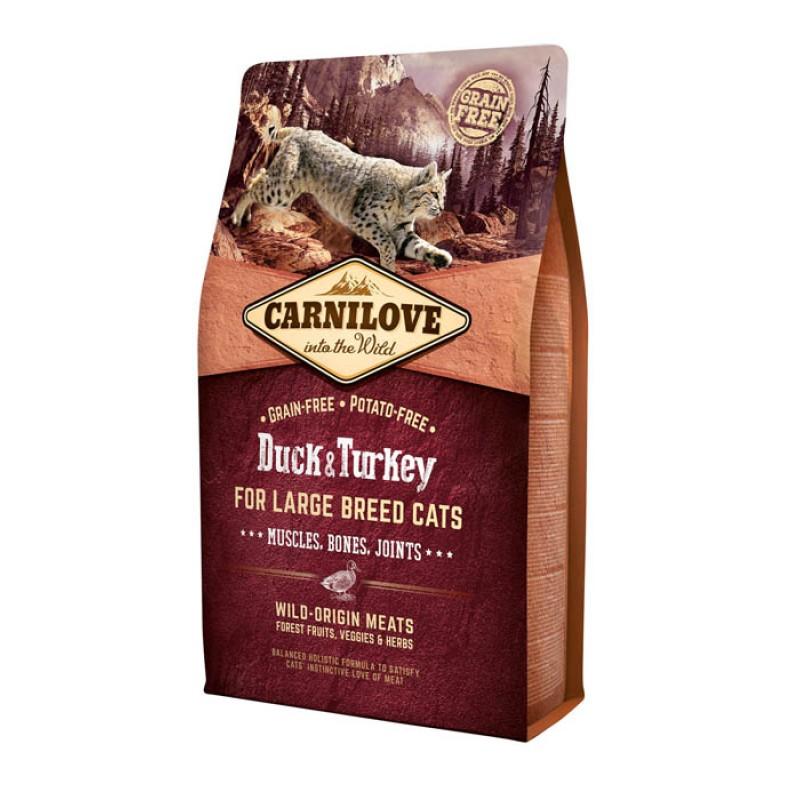 Сухой корм для кошек Carnilove Duck & Pheasant for Adult – Hairball Control с уткой с фазаном 2 кг