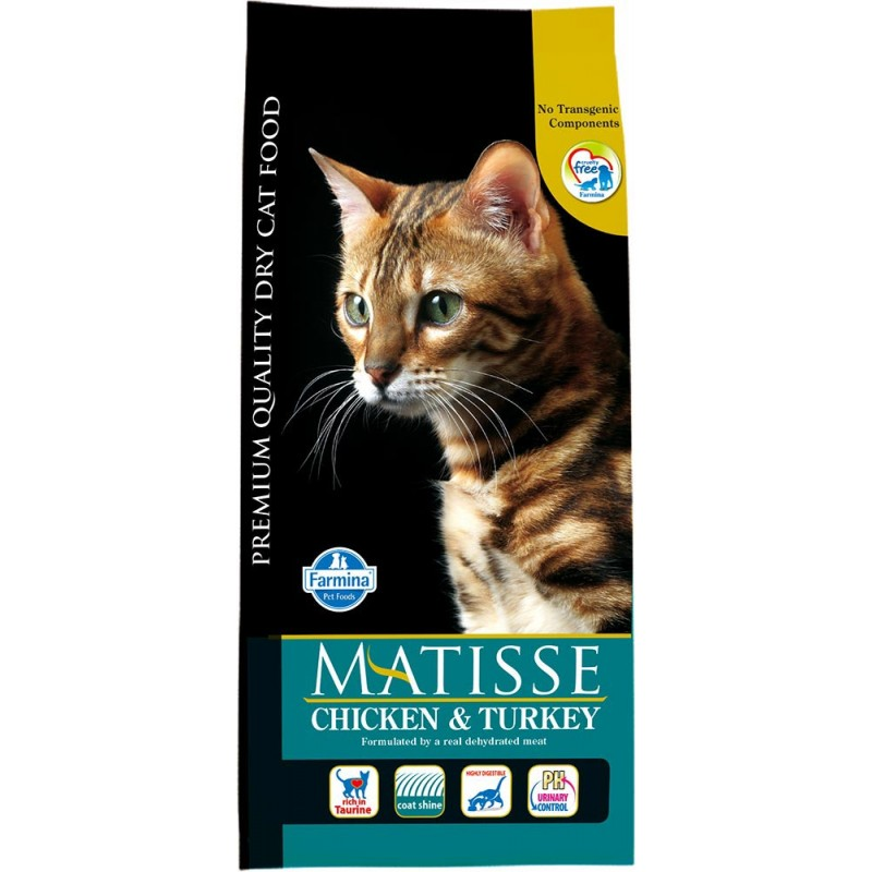 Сухой корм для кошек Farmina Matisse Chicken & Turkey 10 кг