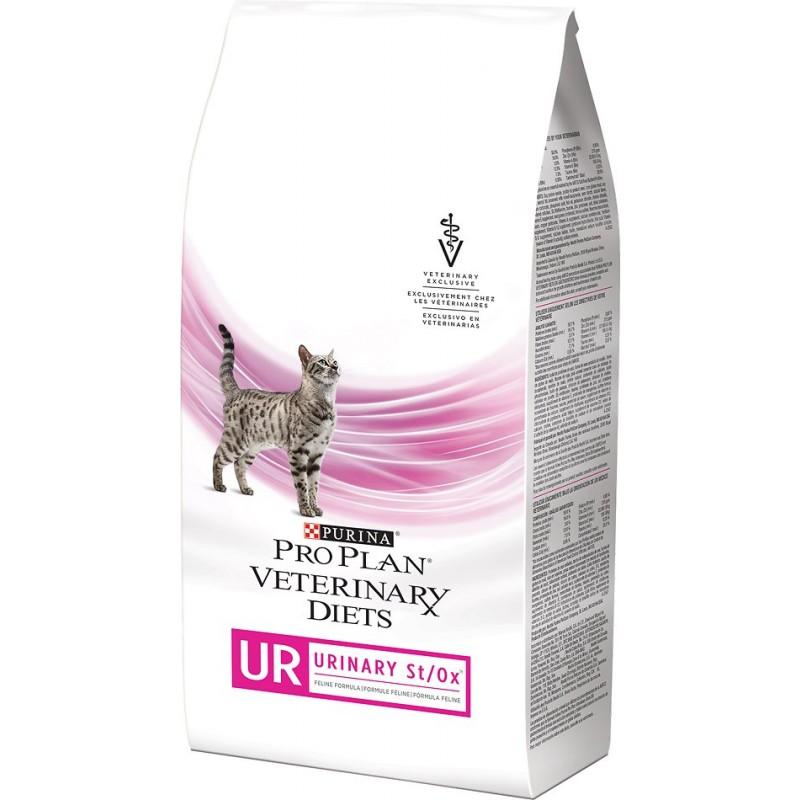 Сухой корм Purina Pro Plan Veterinary Diets Feline UR St/Ox с курицей диета для кошек 1,5 кг
