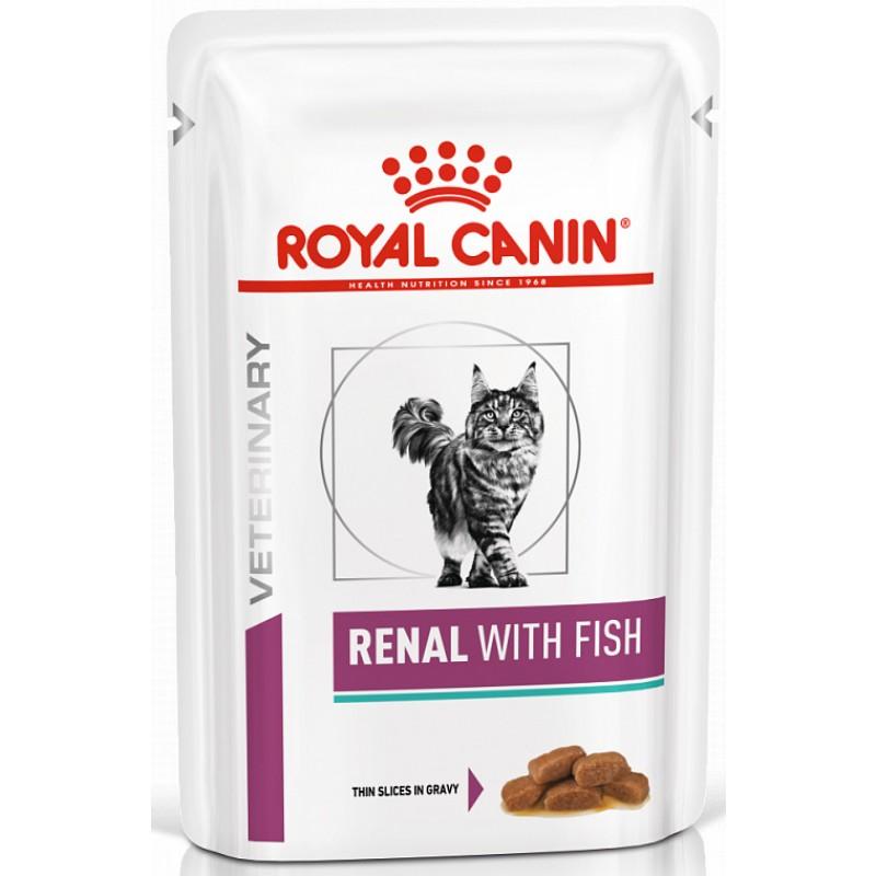 Влажный корм Royal Canin Renal Feline with Tuna пауч диета для кошек 0,085 кг
