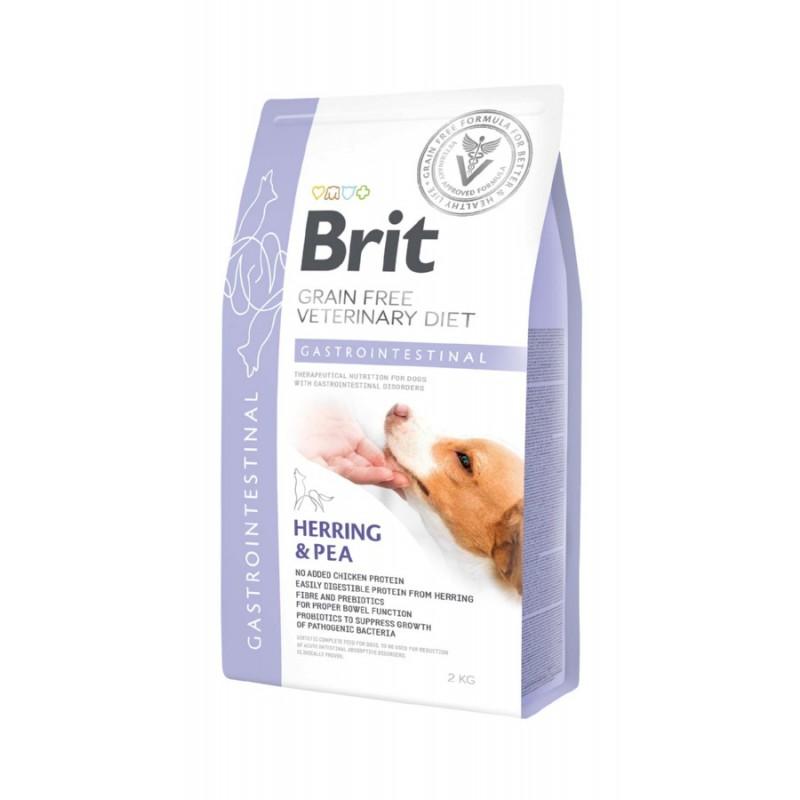 корм Brit VD Dog Grain Free Gastrointestinal диета для собак 2 кг