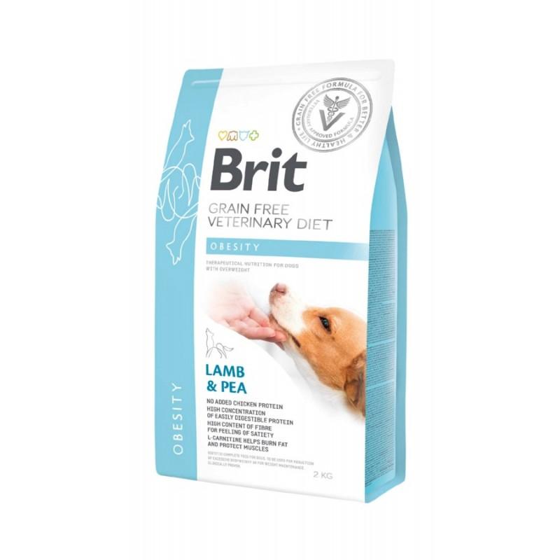 корм Brit VD Dog Grain Free Obesity диета для собак 2 кг