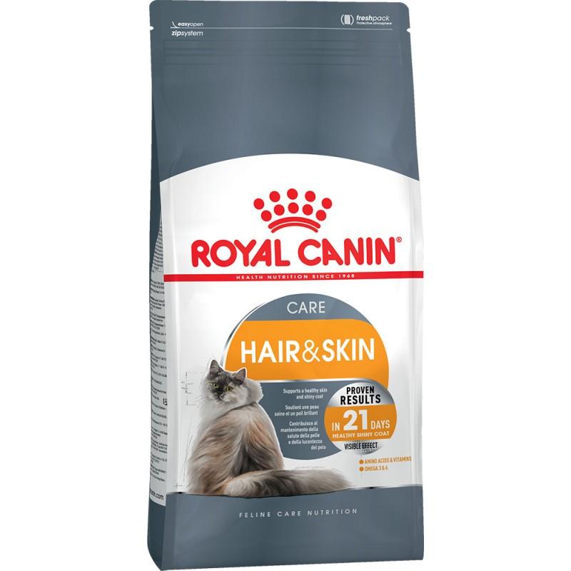 Сухой корм для кошек Royal Canin Hair & Skin Care 2 кг