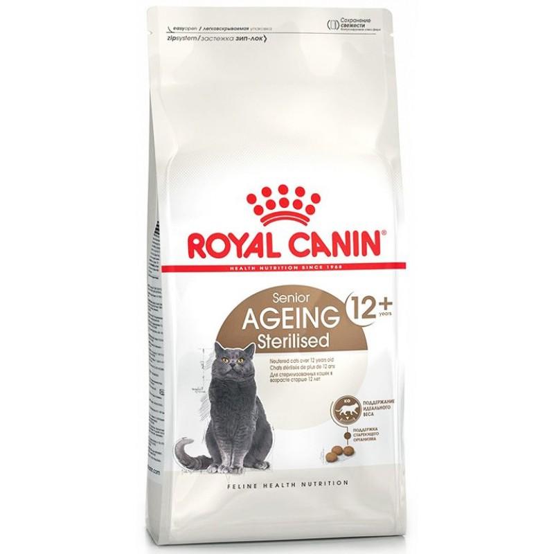 Сухой корм для кошек Royal Canin Ageing Sterilised 12+ 2 кг