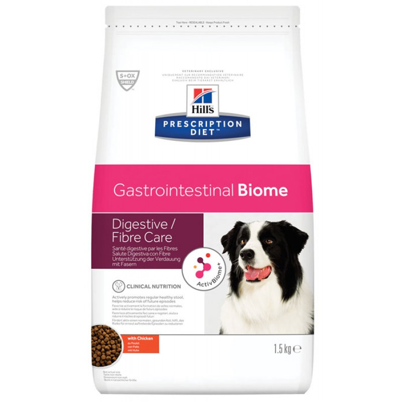 Сухой корм Hills Prescription Diet Gastrointestinal Biome диета для собак 10 кг