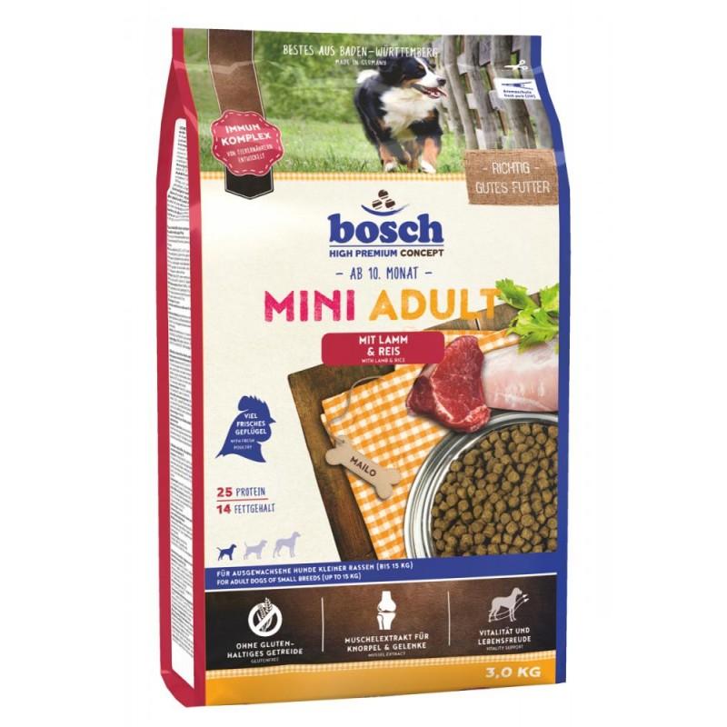 Сухой корм для собак Bosch Mini Adult с ягнёнком и рисом 3 кг