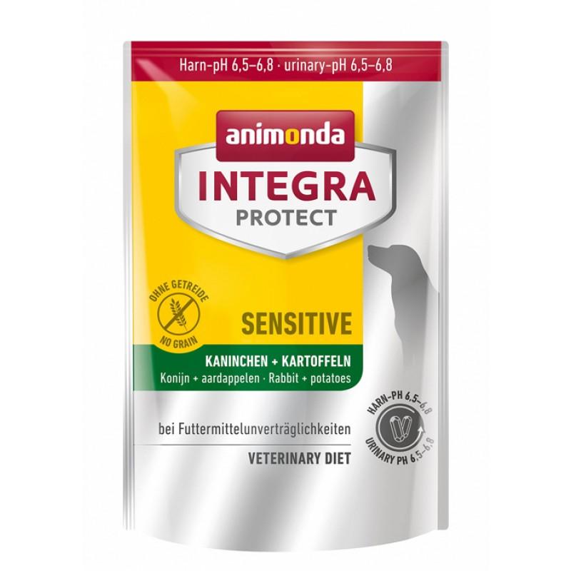 Сухой корм Animonda Integra Protect Sensitive при пищевой аллергии диета для собак 4 кг