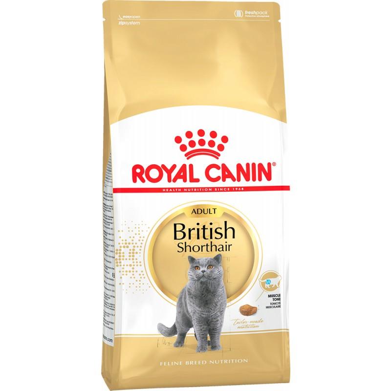 Сухой корм для кошек Royal Canin British Shorthair 34 0,4 кг