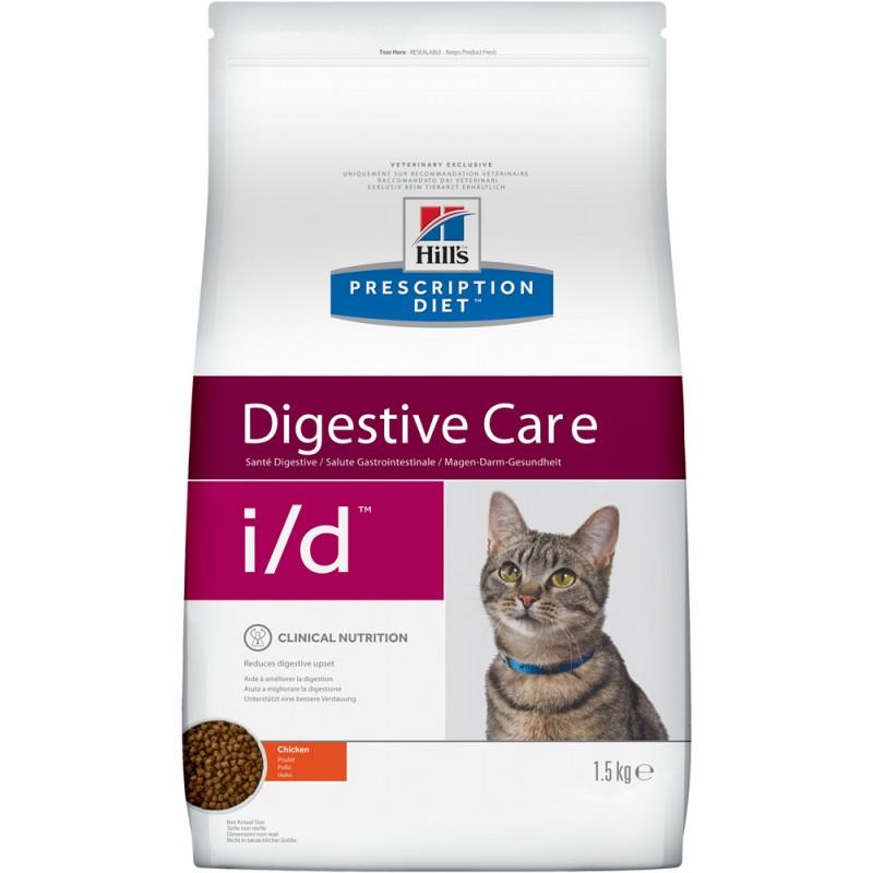 Сухой корм Hills Prescription Diet i/d Feline Gastrointestinal Health диета для кошек 1,5 кг