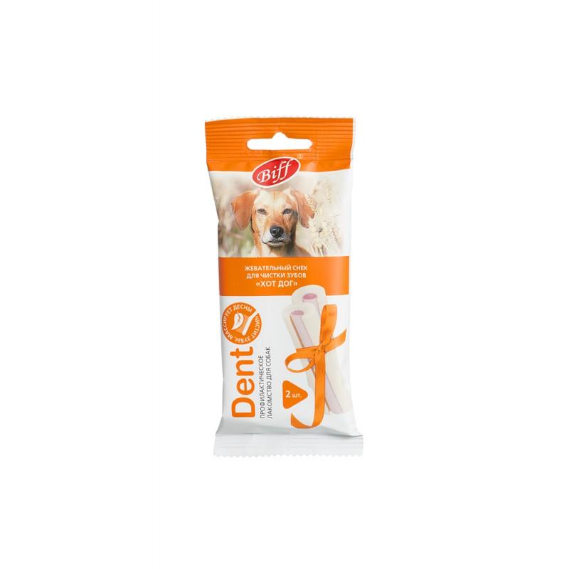 Лакомство для собак Titbit Dent Снек жевательный для средних пород со вкусом кролика 3 шт 0,05 кг