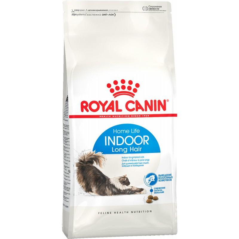 Сухой корм для кошек Royal Canin Indoor Long Hair 35 2 кг