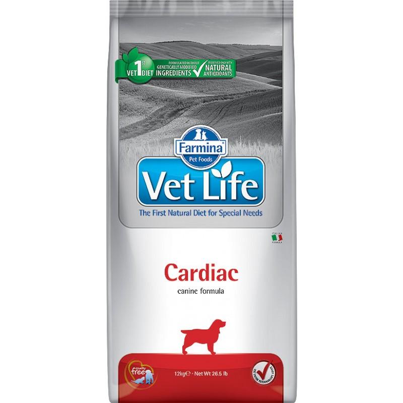 Сухой корм Farmina VET LIFE Canine Cardiac диета для собак 10 кг
