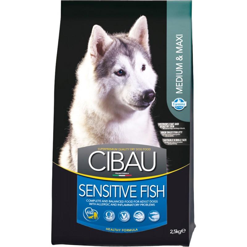Сухой корм для собак Farmina Cibau Sensitive Fish Medium & Maxi 2,5 кг