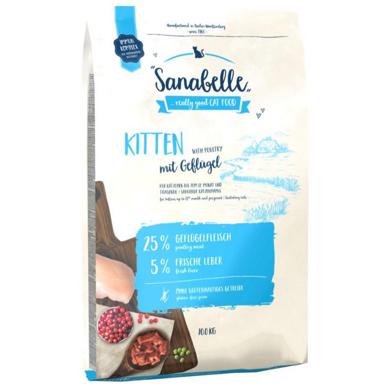 Сухой корм для котят Sanabelle Kitten 10 кг