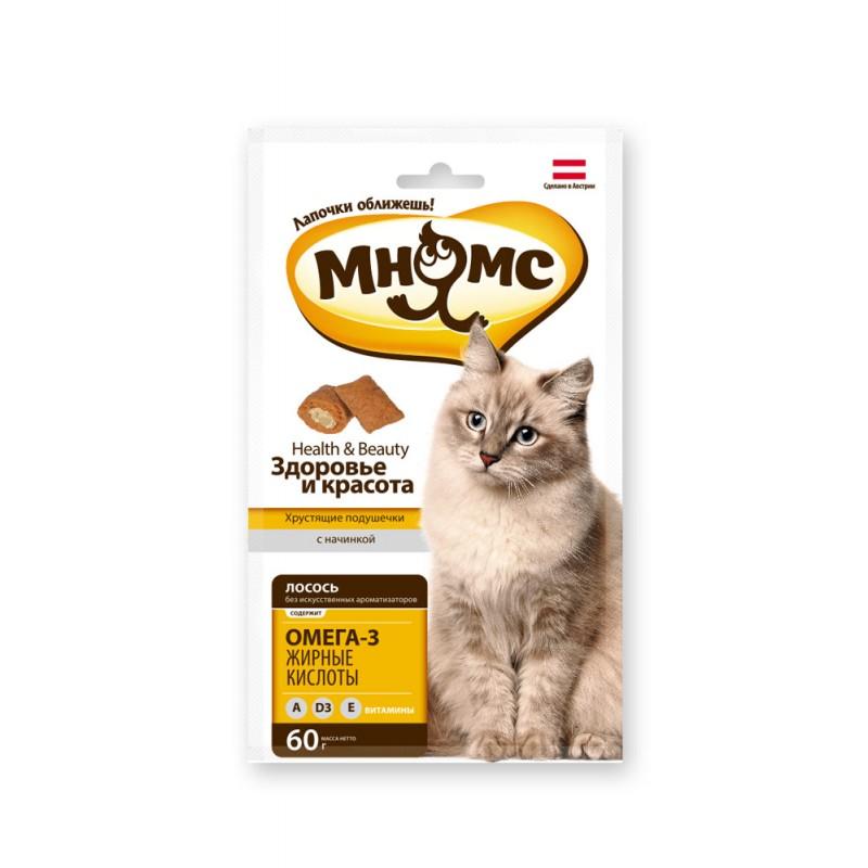 Лакомство для кошек Мнямс Здоровье и красота 0,06 кг