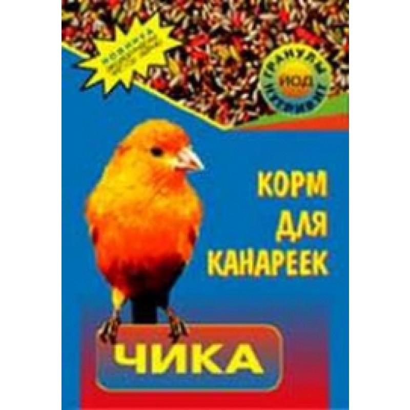 Сухой корм для птиц Чика зерносмесь для канареек 0,2 кг