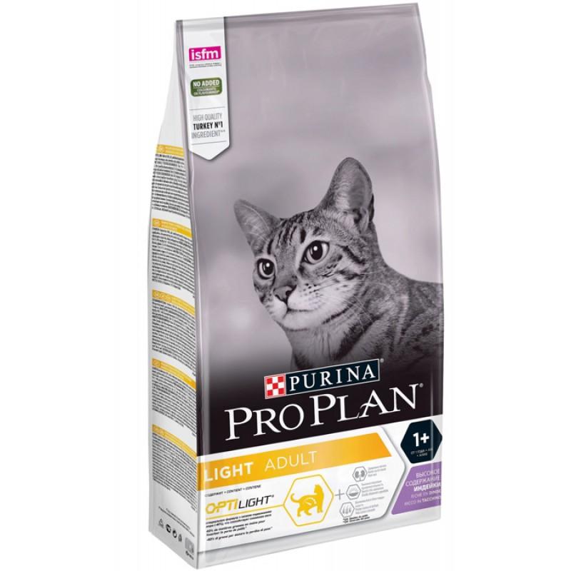 Сухой корм для кошек Purina Pro Plan Adult Feline Light Turkey 1,5 кг