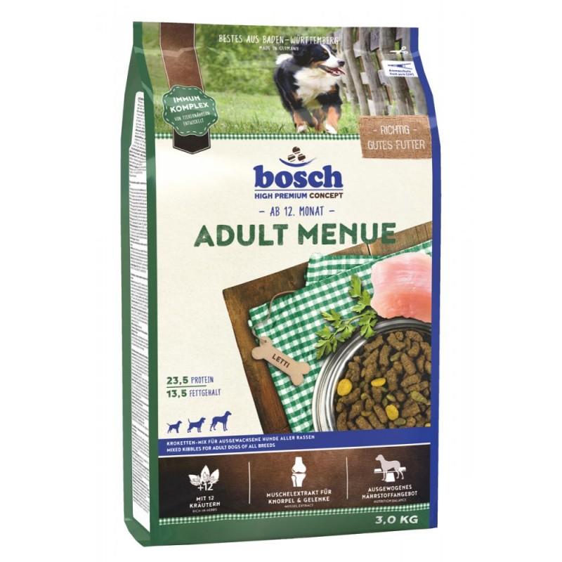 Сухой корм для собак Bosch Adult Menue 3 кг