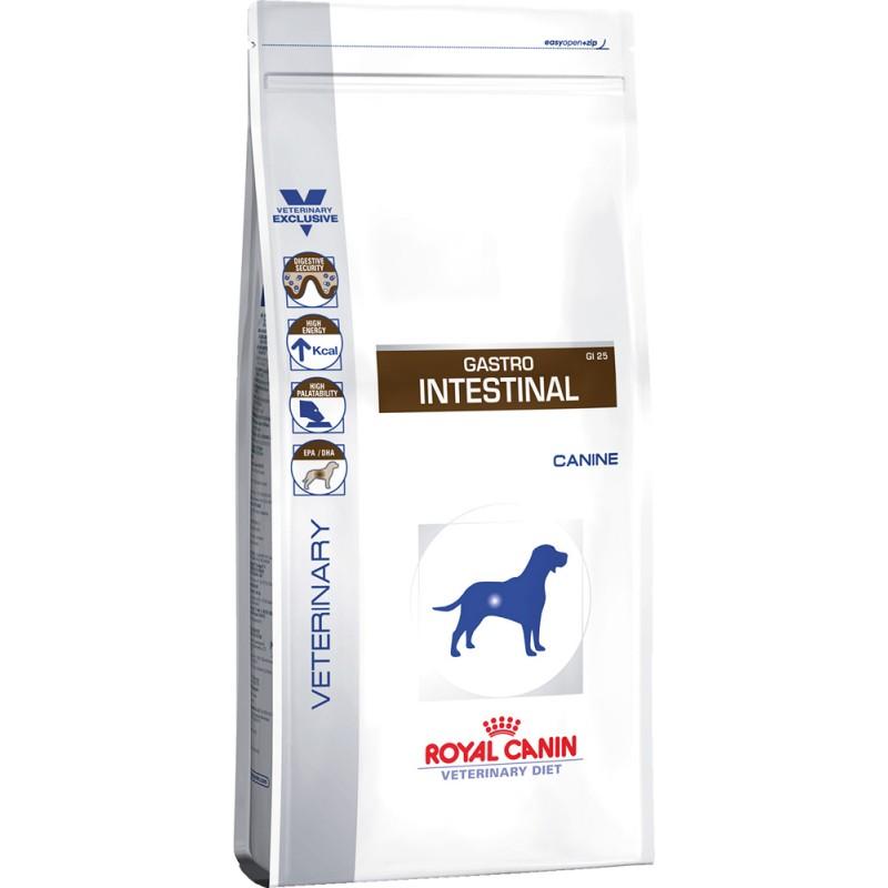 Сухой корм Royal Canin Gastro Intestinal GI25 диета для собак 2 кг