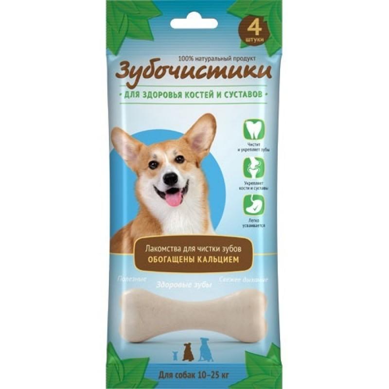 Лакомство для собак средних пород Зубочистики Кальциевые 0,09 кг