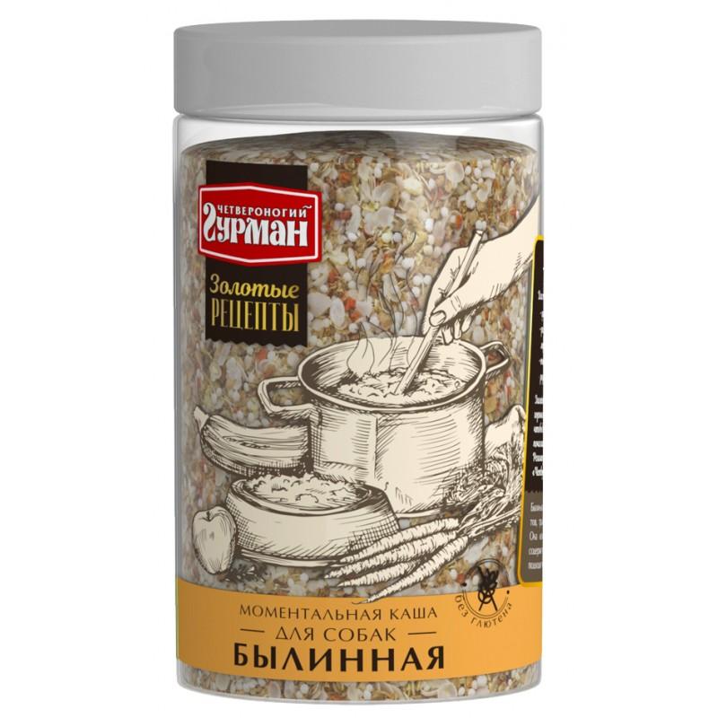 Каша для собак Четвероногий Гурман Золотые рецепты Былинная 0,3 кг