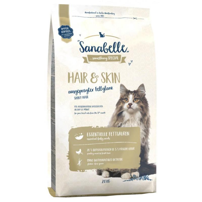 Сухой корм для кошек Sanabelle Hair&Skin 2 кг