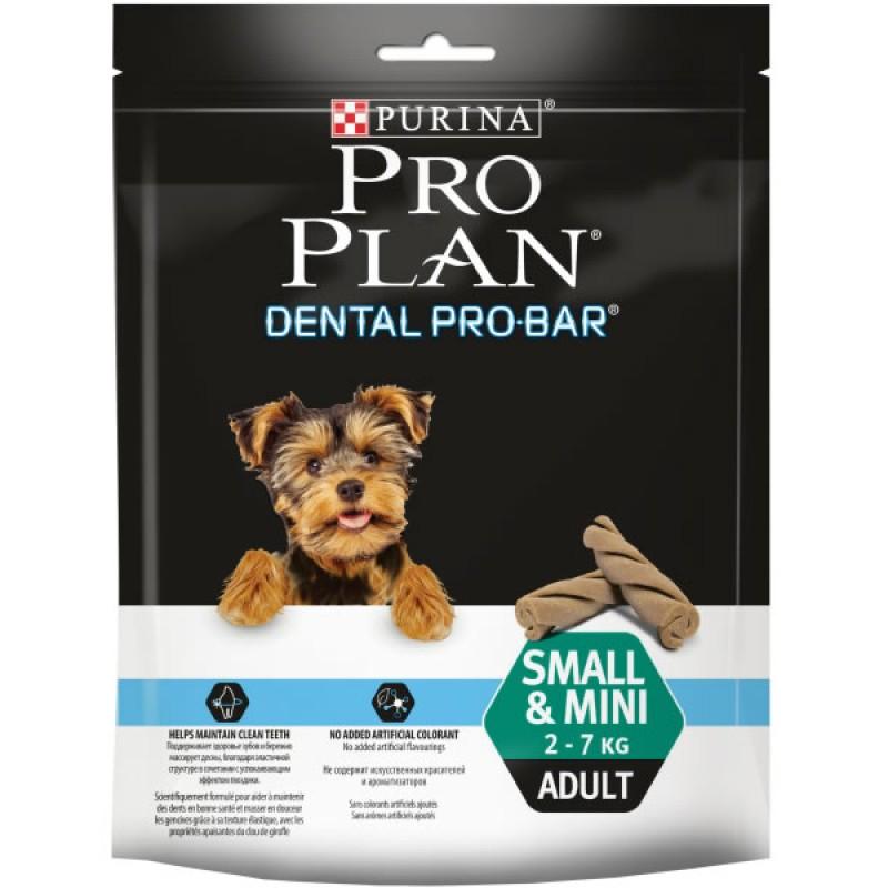 Лакомство для собак Purina Pro Plan Dental Pro Bar Adult Small & Mini 2-7кг 0,15 кг