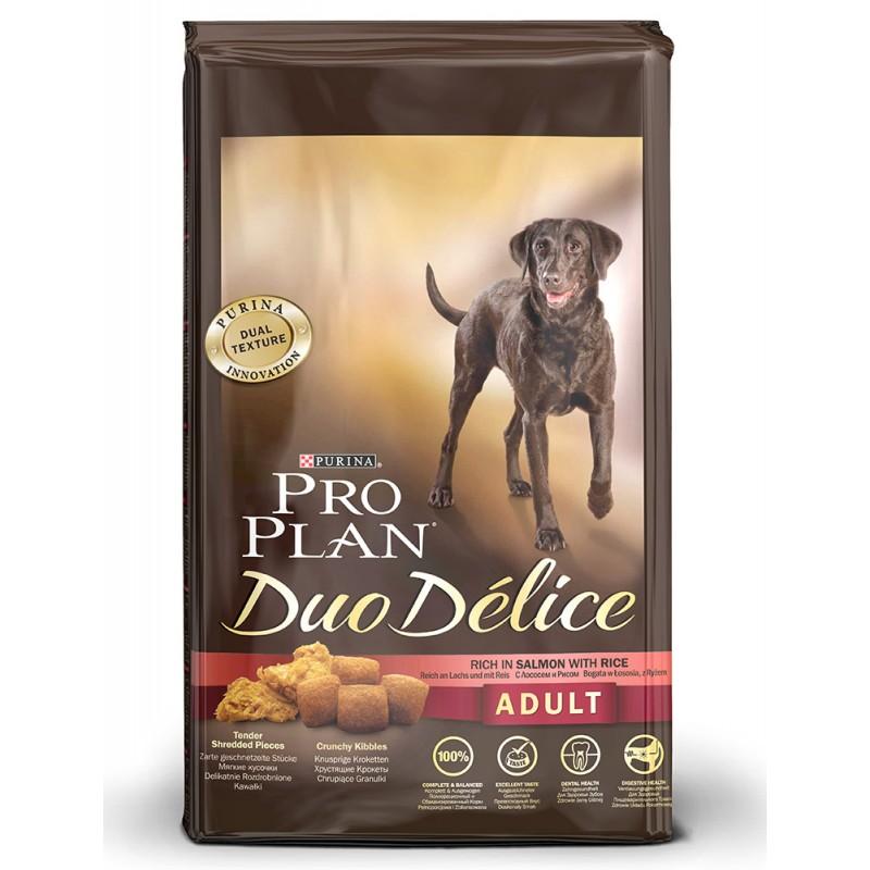 Сухой корм для собак Purina Pro Plan Duo Delice Adult Canine Salmonn&Rice 10 кг