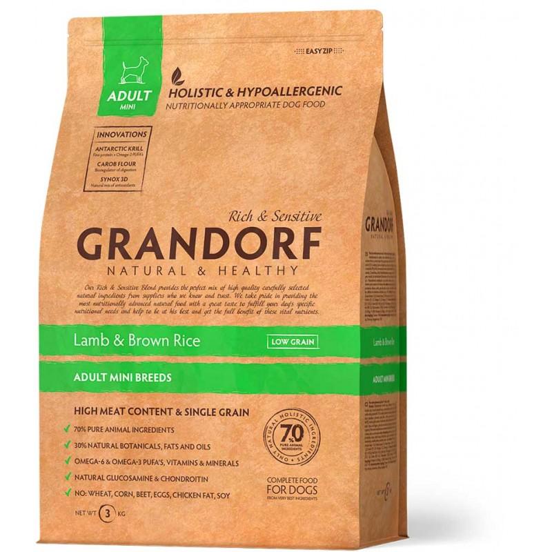 Сухой корм для собак Grandorf Mini Lamb&Rice 1 кг
