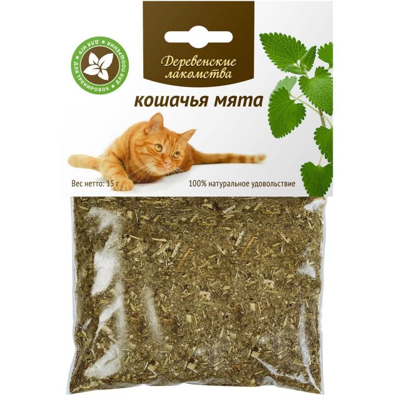 Дразнилка для кошек Деревенские Лакомства Кошачья мята