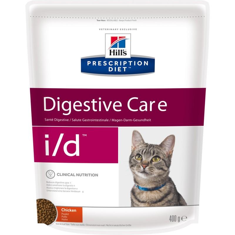 Сухой корм Hills Prescription Diet i/d Feline Gastrointestinal Health диета для кошек 0,4 кг