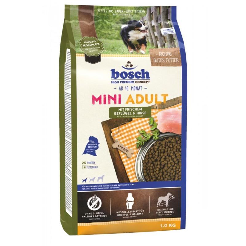 Сухой корм для собак Bosch Mini Adult с птицей и просом 1 кг