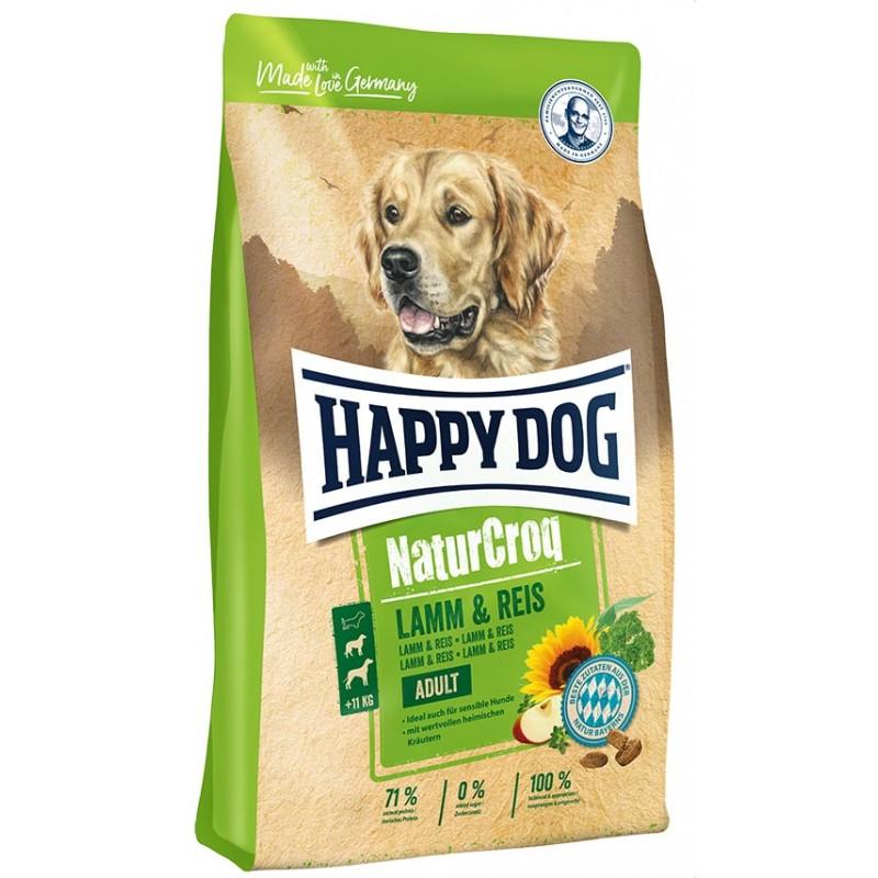 Сухой корм для собак Happy Dog NaturCroq Lamb & Rice 15 кг