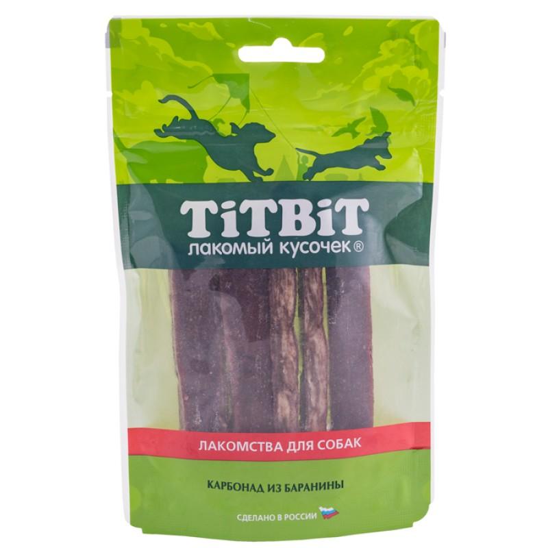 Лакомство для собак Titbit Карбонад из баранины 0,07 кг