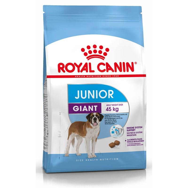 Сухой корм для собак Royal Canin Giant Junior с 8-24 месяцев 3,5 кг