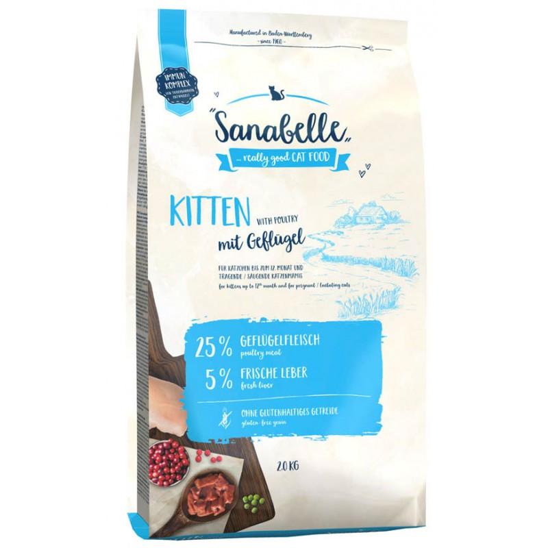 Сухой корм для котят Sanabelle Kitten 2 кг